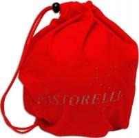 Чехол из микрофибры для мяча Pastorelli. Цвет: красный, Art. 02873