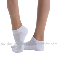 Gymnastic socks SOLO NS21, white