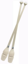 PASTORELLI Rubber-plastic clubs, 45,2 cm. Colour: White, Art. 00222