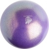 "PASTORELLI GLITTER Gym Ball HV (High Vision). Color: ""Lilac AB"", Art. 02179"