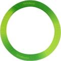 PASTORELLI Green and Yellow Shaded hoop holder, Art. 02186