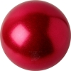 "PASTORELLI GLITTER Gym Ball HV (High Vision). Color: ""Strawberry"", Art. 02203"