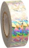 PASTORELLI CRACKLE Metallic adhesive tape. Colour: Silver, Art. 02292