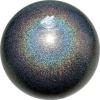 "PASTORELLI GLITTER Gym Ball HV (High Vision). Color: ""Galaxy AB"", Art. 02408"
