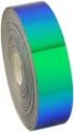 Metallic adhesive tape LASER. Colour: Blue-green, Art. 02476