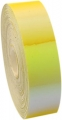 Metallic adhesive tape LASER. Colour: Yellow-orange, Art. 02478