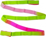 Shaded ribbon PASTORELLI, 5 m. Colour: Fuxia-Lime green-Pink, Art. 03222