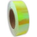 Metallic adhesive tape LASER. Colour: Lime, Art. 03874