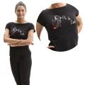 T-shirt VITA DA COACH - ATTREZZI Black