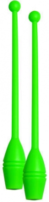 Clubs for practice, 36 cm. Colour: Green, Art. 10065