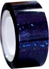 DIAMOND Metallic adhesive tape. Colour: Black