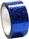 DIAMOND Metallic adhesive tape. Colour: Blue