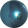 Practice Gym Ball, made in Italia. Colour: Metal Electric Blue, art. 10004