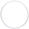 Gym Hoop PASTORELLI RODEO 70 cm, color: white, Art. 00304