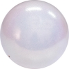 "PASTORELLI GLITTER Gym Ball HV (High Vision). Color: ""White"", Art. 00027"