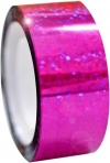 DIAMOND Metallic adhesive tape. Colour: Fuchsia