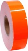 Metallic adhesive tape Moon Nastro. Colour: Orange Fluo