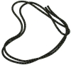 "PASTORELLI ""METAL"" rope: New Orleans model - Black with gold lamé threads, Art. 00125"
