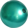 Practice Gym Ball, made in Italia. Colour: Metal Green, art. 10007