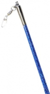PASTORELLI GLITTER Stick with grip. Color: Blue. Art. 00407