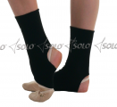 Stirrup ankle protectors SOLO GL10-61, Black