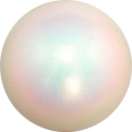 PASTORELLI Glitter Gym Ball, diameter 16. Colour: Holographic White