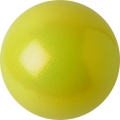 PASTORELLI Glitter Gym Ball, diameter 16. Colour: Yellow