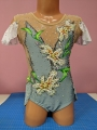 Leotard for competitions, used. For height: 118-128 cm