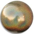 PASTORELLI Glitter Gym Ball, diameter 16. Colour: Brass AB