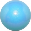 PASTORELLI Glitter Gym Ball, diameter 16. Colour: Sky Blue