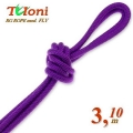 Competition Rope Tuloni mod. Fly. Color Purple, Art.T0197