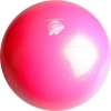 "PASTORELLI GLITTER Gym Ball HV (High Vision). Color: ""Fluo Pink"", Art. 00040"