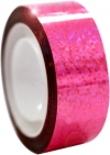 DIAMOND Metallic adhesive tape. Colour: Fluo Pink