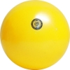 Practice Gym Ball, made in Italia. Colour: Metal Yellow, art. 10008
