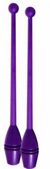 Clubs for practice, 36 cm. Colour: Violet