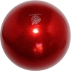"PASTORELLI GLITTER Gym Ball HV (High Vision). Color: ""Red"", Art. 02069"