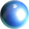 "PASTORELLI GLITTER Gym Ball HV (High Vision). Color: ""Sapphire Blue"", Art. 00043"
