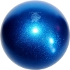"PASTORELLI GLITTER Gym Ball HV (High Vision). Color: ""Blue"", Art. 00047"