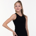 Gymnastic Tank Top, black SOLO FD400-107