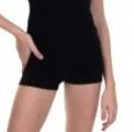 Short-pants SOLO FD760, black tricot