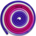 Rope PASTORELLI New Orleans MULTICOLOR. Colour: White fuchsia lilac, Art. 04257