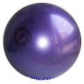 Practice Gym Ball Tuloni 16 cm,. Colour: Violet Glitter