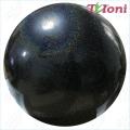 Practice Gym Ball Tuloni 16 cm,. Colour: Black Glitter