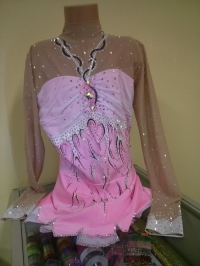 Leotard for competitions. For height: 154-164 cm