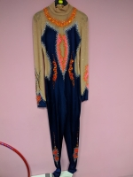 Leotard for competitions, used. For height 158-168 cm