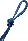 """PASTORELLI """"METAL"""" rope: New Orleans model - Light Blue with silver lamé threads, Art. 00122"""