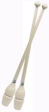 PASTORELLI Rubber-plastic clubs, 45,2 cm. Colour: White, Art. 00222