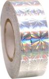 Pastorelli GALAXY Metallic Silver Flower adhesive tape, Art. 01584