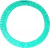 PASTORELLI LIGHT Aquamarine hoop holder, Art. 02099