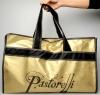 Leotard holder Pastorelli with handles. Color: Gold, Art. 02412